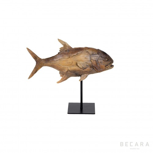 Small fish on a stand