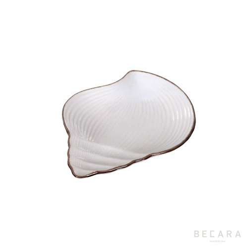 Small snail ceramic dish