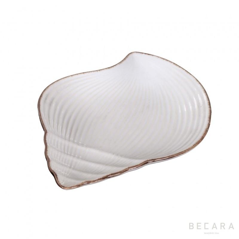 Medium snail ceramic dish