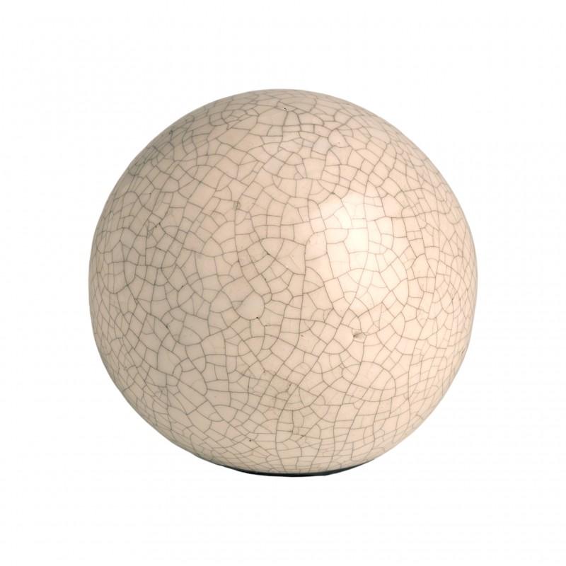 Bola Crack blanca 15diam - BECARA