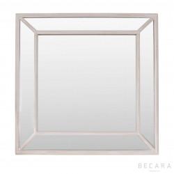 Espejo Nash marco antiq color topo