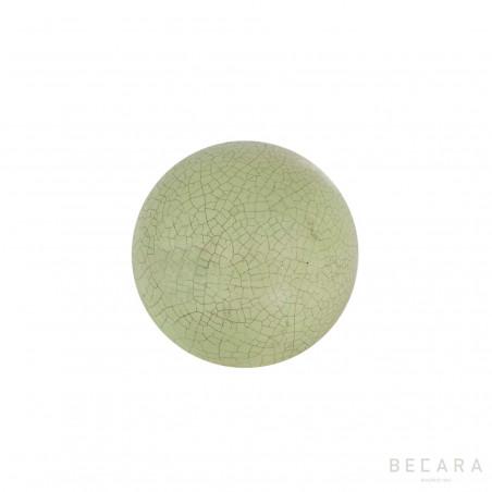 Bola Crack celadon verde