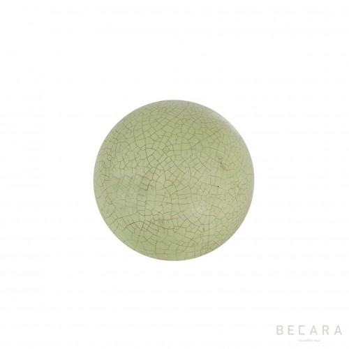 Bola Crack celadon verde - BECARA