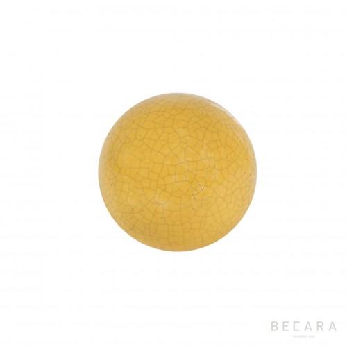 Yellow Crack ball