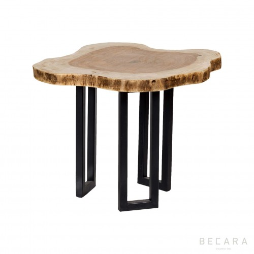 Mesa auxiliar laja árbol grande - BECARA