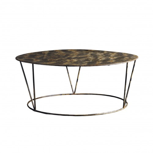 Iron coffe table