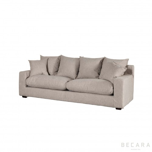 Small beige Corn sofa