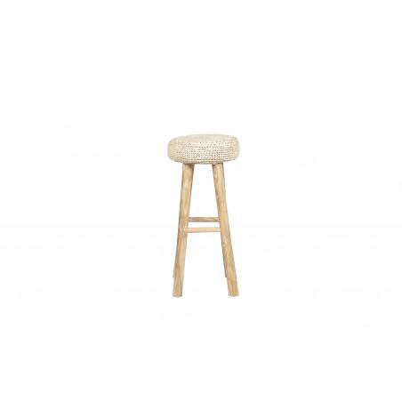 Big natural Oslo stool