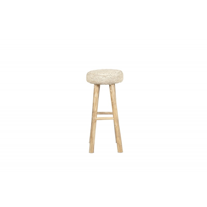 Big natural Oslo stool