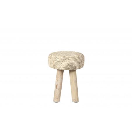 Small Natural Oslo stool