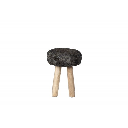 Small natural Oslo stool