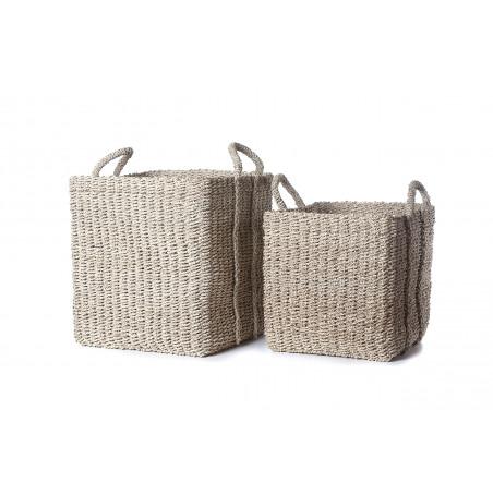 Set of 2 natural Provenza baskets