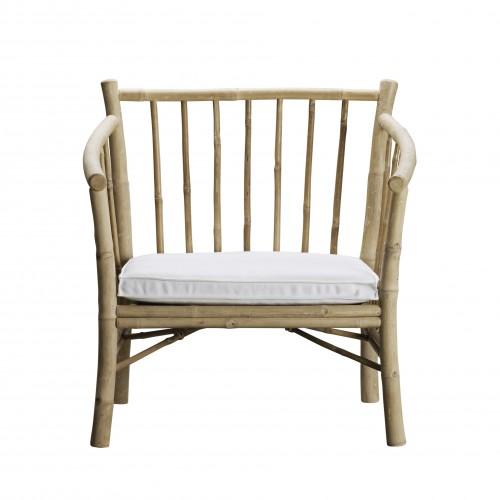 White Ticao armchair