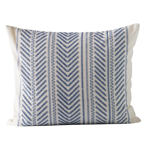 Blue Moraira cushion