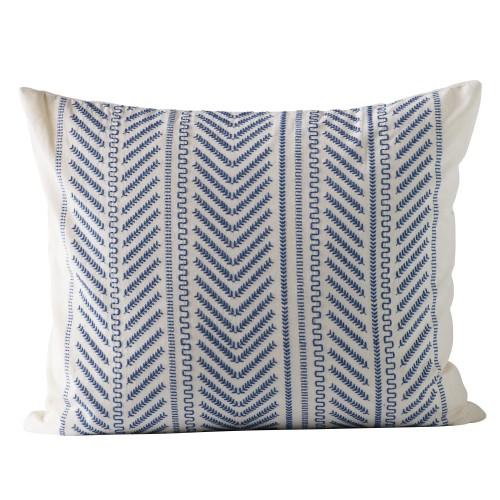 Blue Moraira cushion