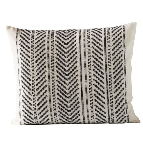 Black Moraira cushion