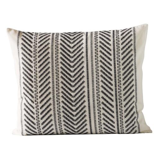 Black Moraira cushion