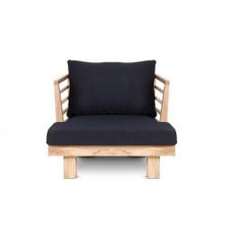 Black Sóller armchair