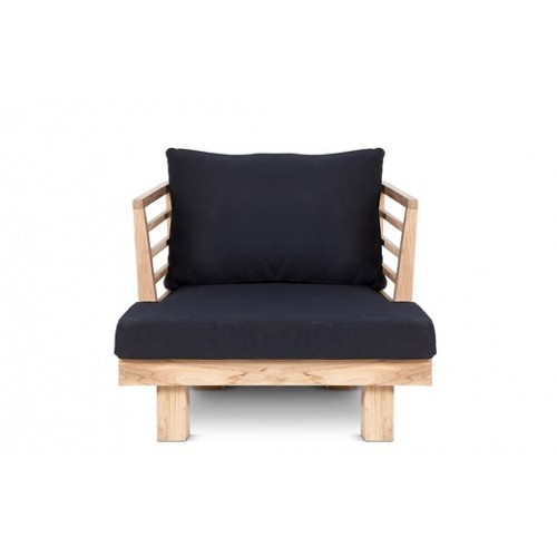 Black Sóller armchair