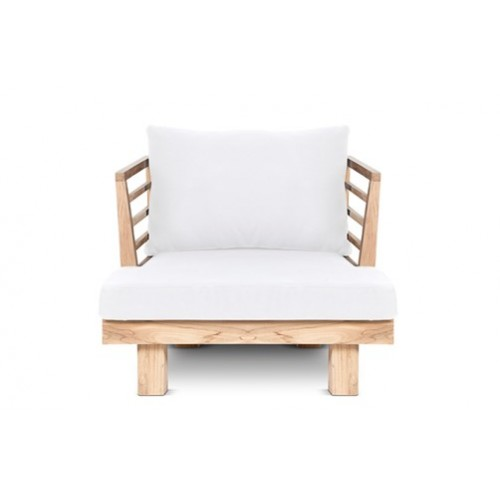 White Sóller armchair