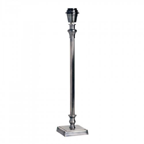 Lámpara de mesa metálica con base cuadrada 50cm