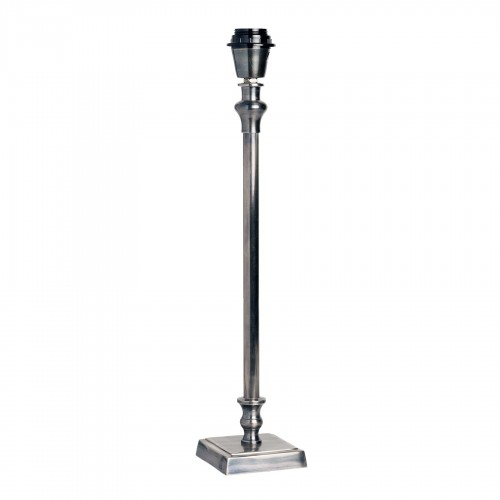 Lámpara de mesa metálica con base cuadrada 50cm - BECARA