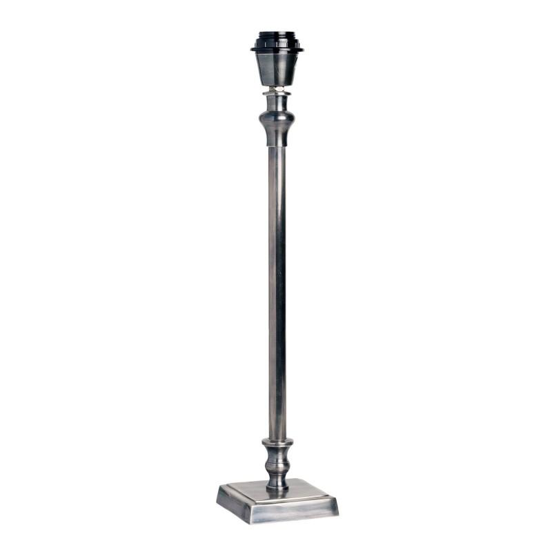 50cm square base metallic table lamp