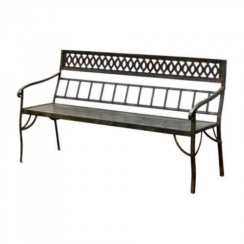 Garden diamonds bench