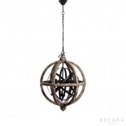 Round ceiling lamp
