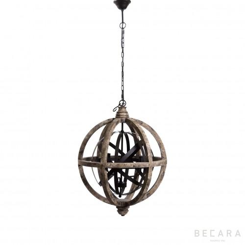 Lámpara de techo redonda  - BECARA