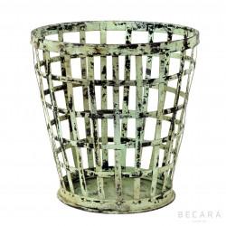 Big green perforated bin