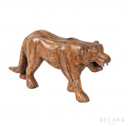 Wooden tiger