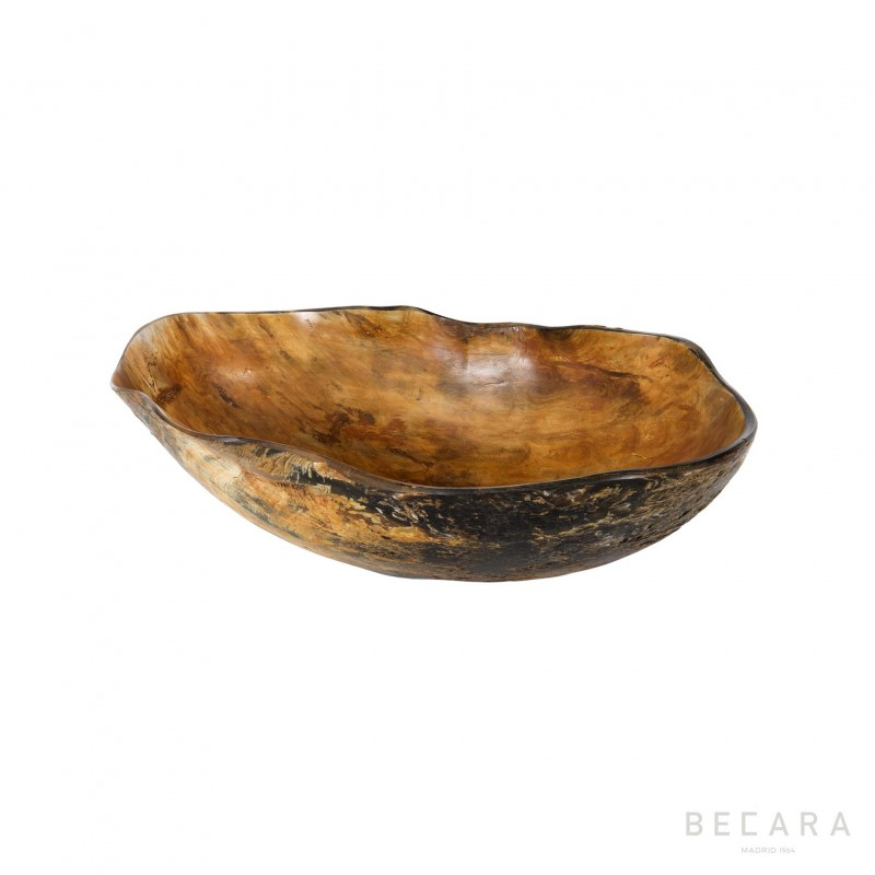 Small horn irregular bowl