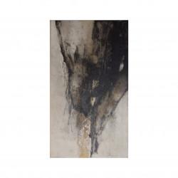 Óleo vertical abstracto I oscuro