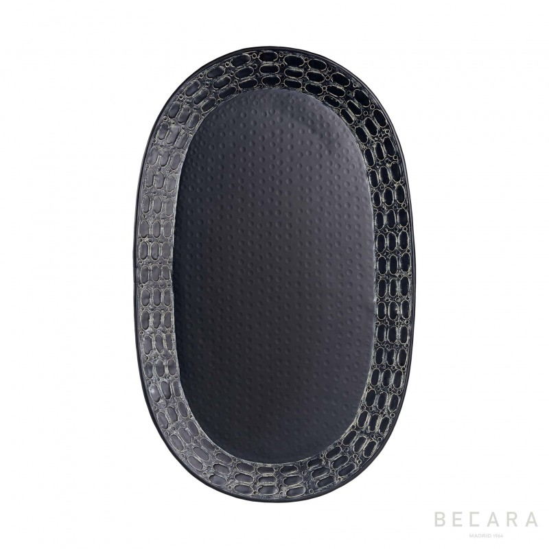 Big oval Ares tray