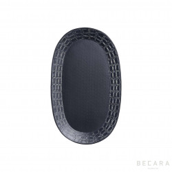 Medium oval Ares tray