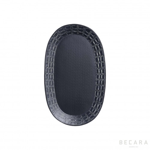 Medium oval Ares tray