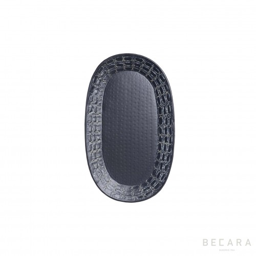 Small oval Ares tray