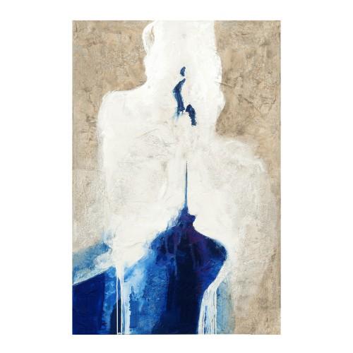 Óleo vertical mancha azul - BECARA