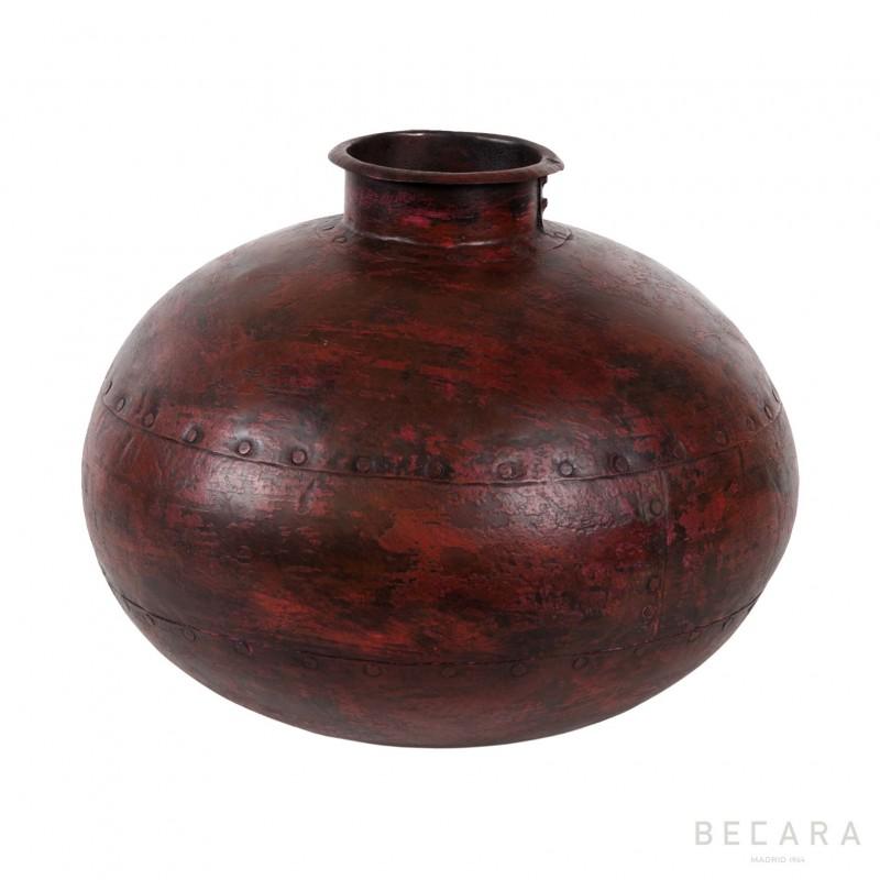 Botella roja de hierro - BECARA