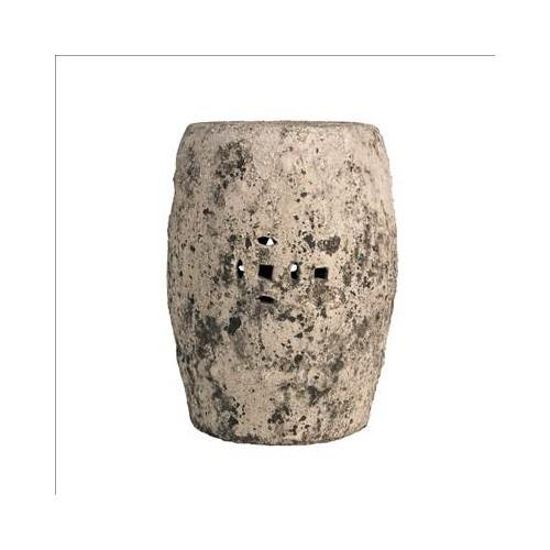 Grey stone stool
