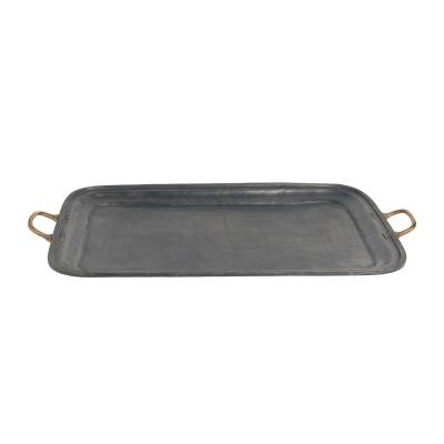 Small grey lead tray