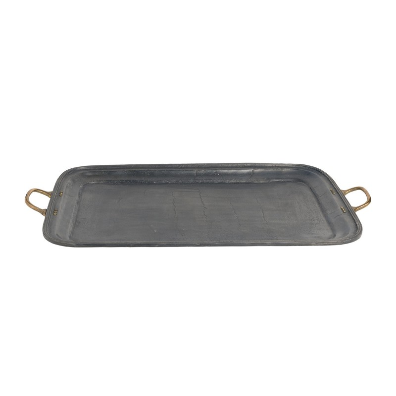 Small grey lead tray