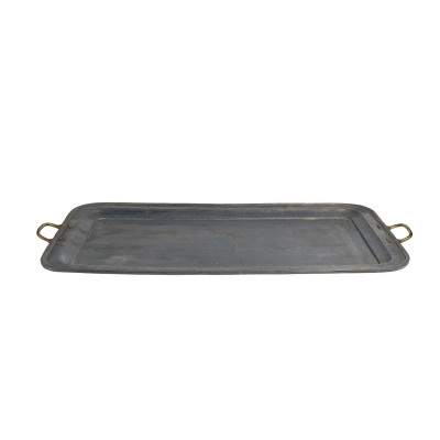 Big grey lead tray