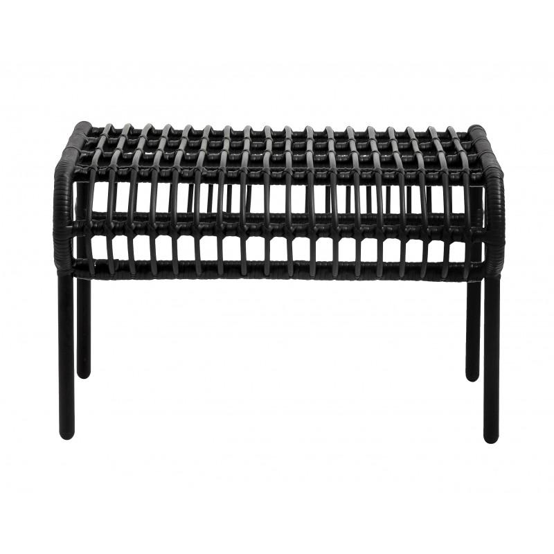 Black stool Garden