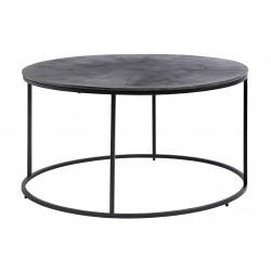 Mesa redonda con tapa de aluminio