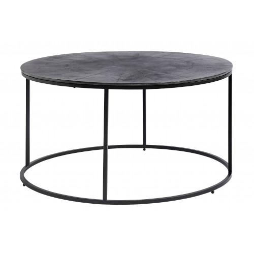 Mesa redonda con tapa de aluminio - BECARA