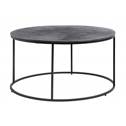 Round table with aluminum top