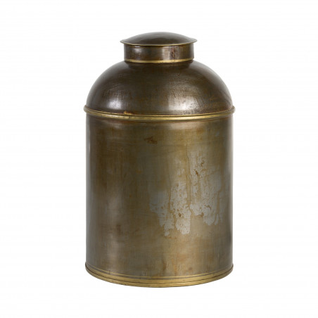 Antique Raw metal tibor