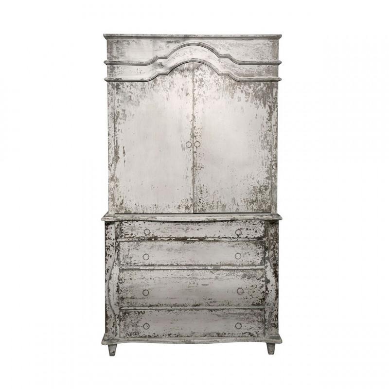 Mueble armario gris becara tienda online - Muebles becara outlet ...